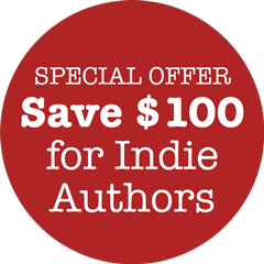 Special Offer - Save $100 for Indie Authors