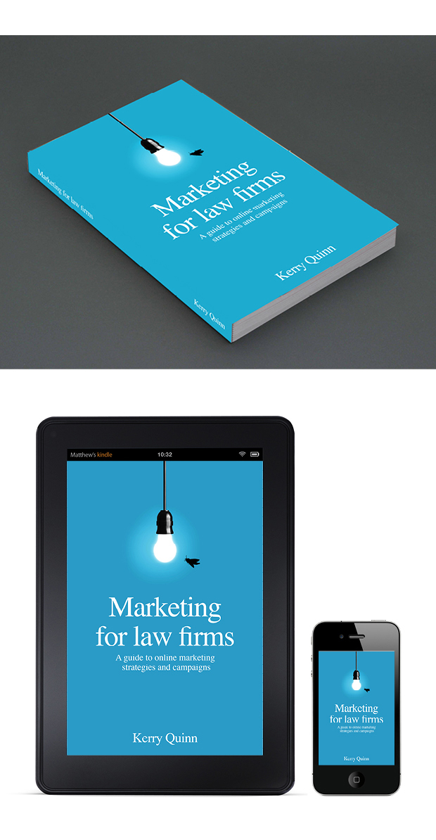 Marketing Book Cover Design – Marketing for Law Firms