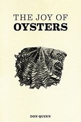 Cook Book Cover Design – The Joy of Oysters