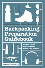 Travel Book Cover Design – The Backpacking Preparation Guidebook