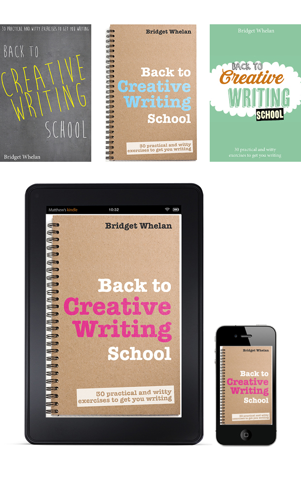Creative Writing eBook Cover Design – Back to Creative Writing School