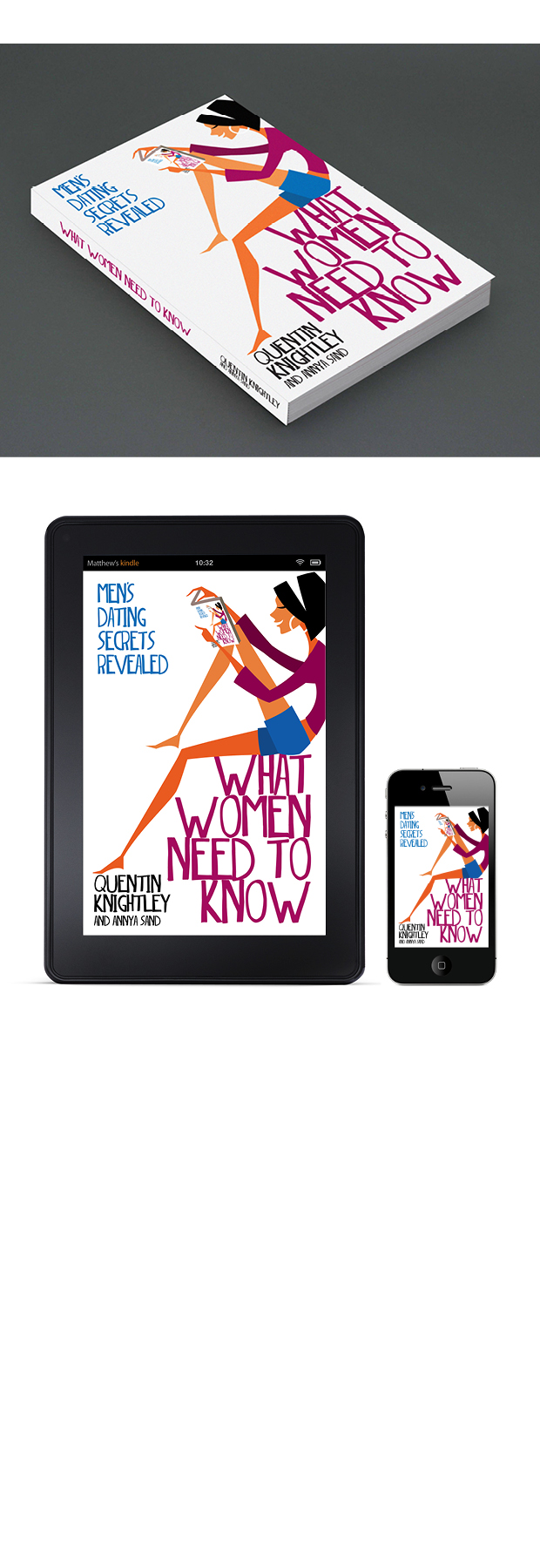 Self-Help Book Cover Design – What Women Need to Know