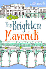 Bestselling Book Cover Design for The Brighton Maverick