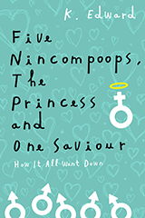 Dating Book Cover Design – Five Nincompoops, The  Princess and One Saviour