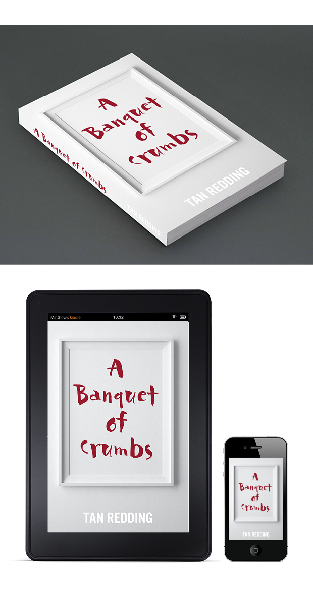 Literary Book Cover Design – A Banquet of Crumbs
