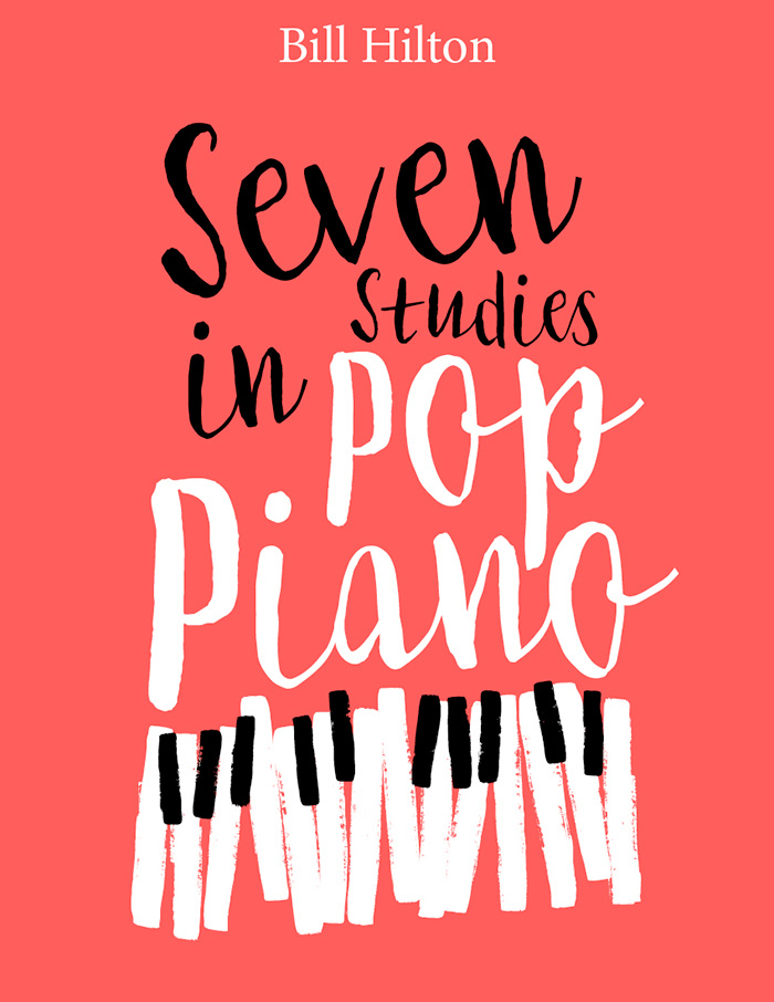 piano music series book cover design